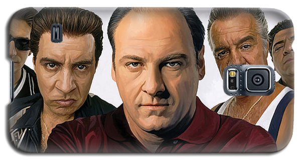 Galaxy S5 Case featuring the painting The Sopranos  Artwork 2 by Sheraz A