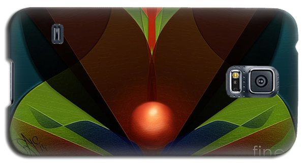 Galaxy S5 Case featuring the digital art The Soul Vase by Rosa Cobos