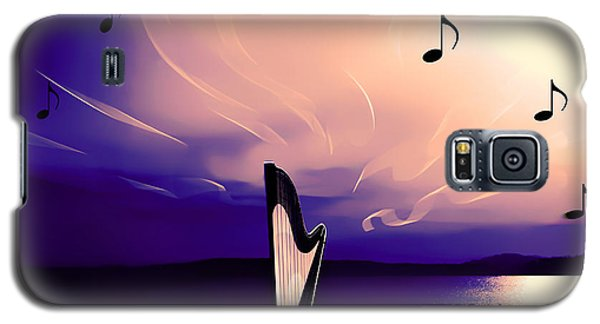 The Sounds Of Sunset Galaxy S5 Case by Eddie Eastwood