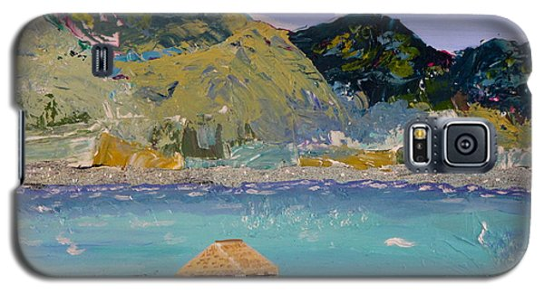 Galaxy S5 Case featuring the painting The South Seas by Phyllis Kaltenbach