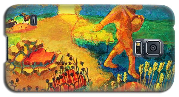 The Sower Painting By Bertram Poole Galaxy S5 Case