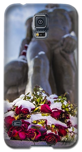 The Spartan With Roses 2 Galaxy S5 Case