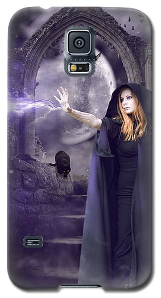The Spell Is Cast Galaxy S5 Case by Linda Lees