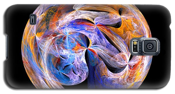Galaxy S5 Case featuring the digital art The Spirit At Creation by R Thomas Brass
