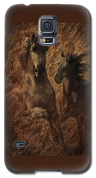 The Spirit Of Black Sterling Galaxy S5 Case