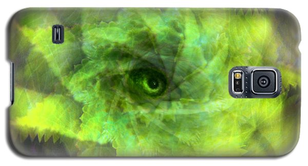 Galaxy S5 Case featuring the digital art The Spirit Of The Jungle by Martina  Rathgens