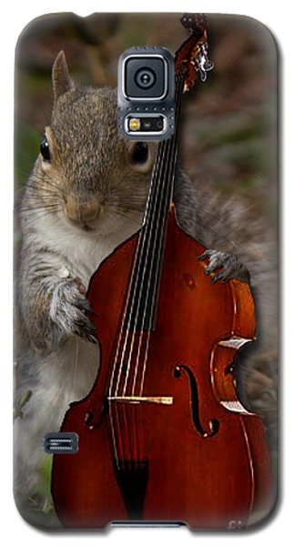 The Squirrel And His Double Bass Galaxy S5 Case