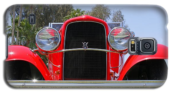 Galaxy S5 Case featuring the photograph The Stare Of A V8 by Shoal Hollingsworth