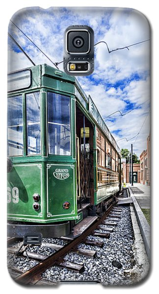 The Stib 1069 Streetcar At The National Capital Trolley Museum I Galaxy S5 Case