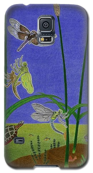 The Story Of The Dragonfly With Description Galaxy S5 Case