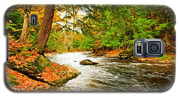 Galaxy S5 Case featuring the photograph The Stream by Bill Howard
