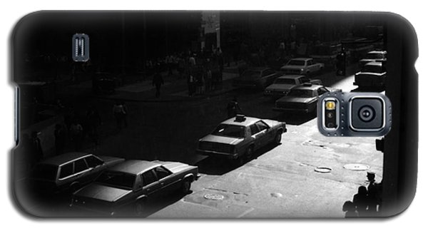 Galaxy S5 Case featuring the photograph The Street by Steven Macanka