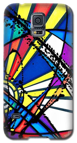 The Sun Card Galaxy S5 Case