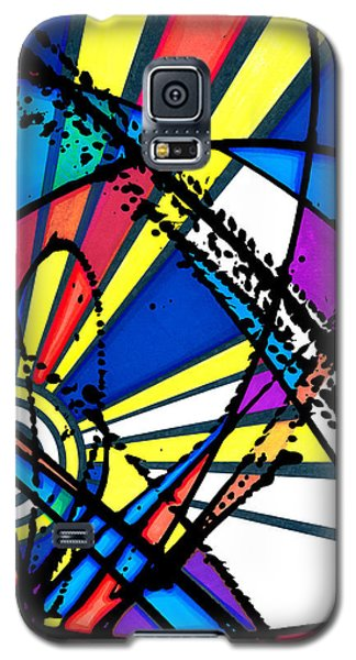 The Sun Card Galaxy S5 Case