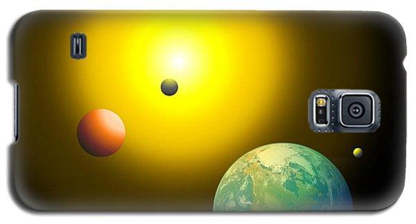 The Sun Galaxy S5 Case by Cyril Maza