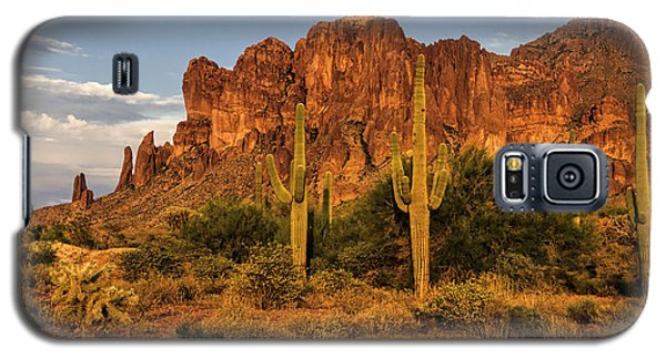 The Superstitions At Sunset  Galaxy S5 Case