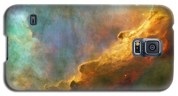 The Swan Nebula Galaxy S5 Case