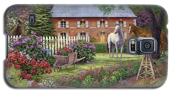 Bluejay Galaxy S5 Case - The Sweet Garden by Chuck Pinson