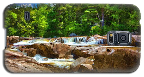 The Swift River Beside The Kancamagus Scenic Byway In New Hampshire Galaxy S5 Case by John Haldane