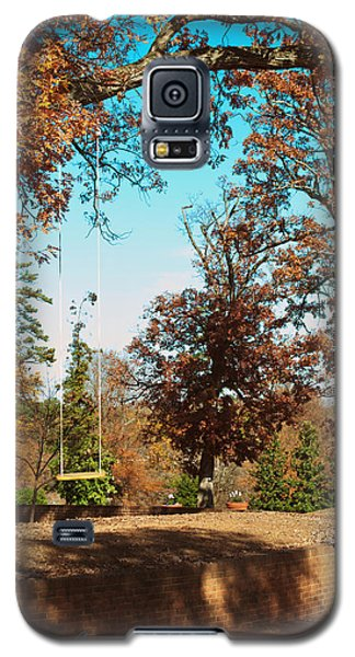 The Swing With Red Bicycle - Davidson College Galaxy S5 Case