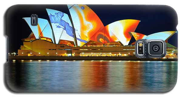 The Sydney Opera House In Vivid Colour Galaxy S5 Case
