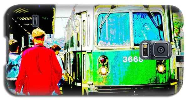 The T Trolley Boston Massachusetts Galaxy S5 Case