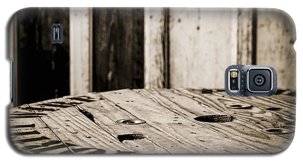 Galaxy S5 Case featuring the photograph The Table by Amber Kresge