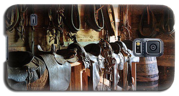 The Tack Room Galaxy S5 Case by Vinnie Oakes