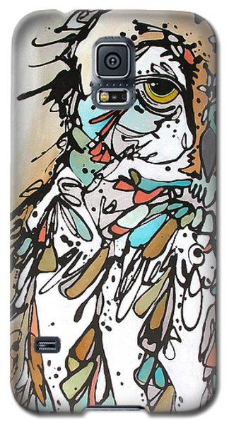 Galaxy S5 Case featuring the painting The Teacher by Nicole Gaitan