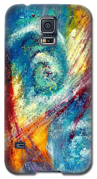 Galaxy S5 Case featuring the painting The Tempest by Jim Whalen