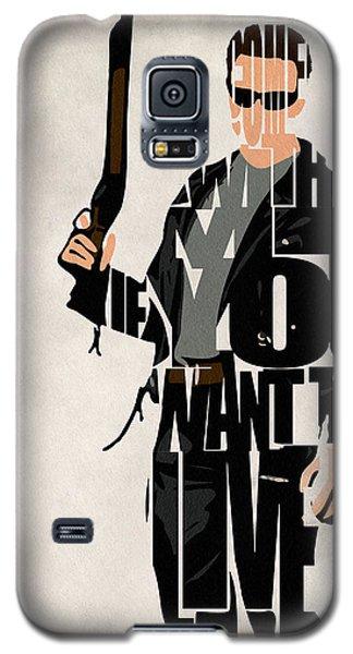 The Terminator - Arnold Schwarzenegger Galaxy S5 Case