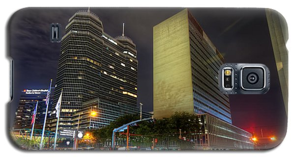 The Texas Medical Center At Night Galaxy S5 Case