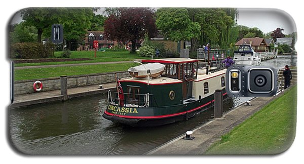 The Thames At Penton Hook Lock Galaxy S5 Case