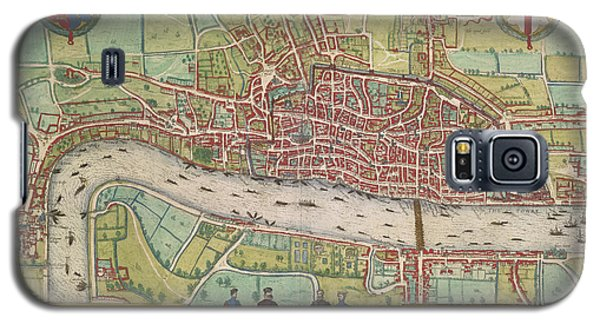 Tower Of London Galaxy S5 Case - The Thames by British Library