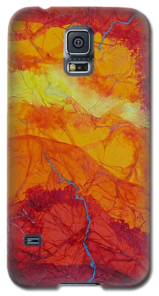 The Thin Blue Line Galaxy S5 Case by Michele Myers
