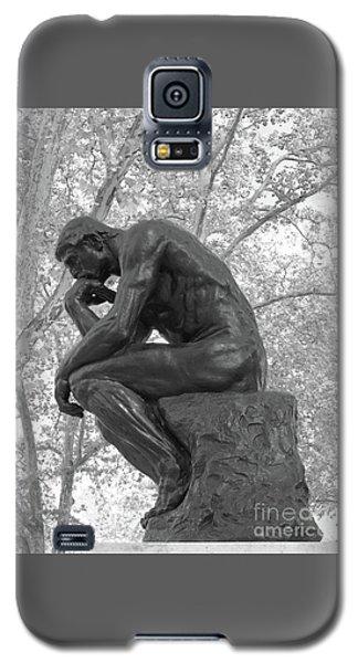 The Thinker - Philadelphia Bw Galaxy S5 Case by Ann Horn