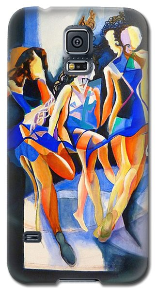 Galaxy S5 Case featuring the painting The Three Graces by Georg Douglas