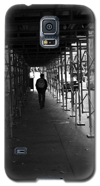 Galaxy S5 Case featuring the photograph The Time Tunel by Dorin Adrian Berbier