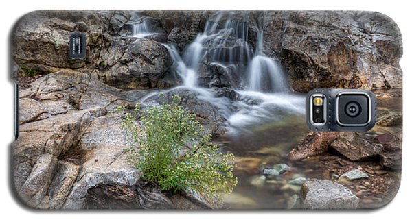 The Top Of Carr Canyon Falls Galaxy S5 Case