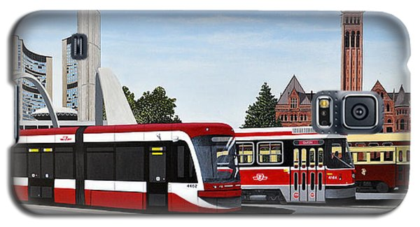 The Toronto Streetcar 100 Years Galaxy S5 Case