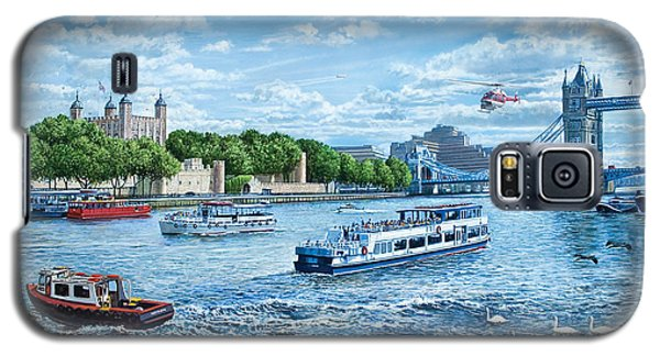 Tower Of London Galaxy S5 Case - The Tower Of London by Steve Crisp