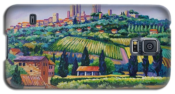 The Towers Of San Gimignano Galaxy S5 Case