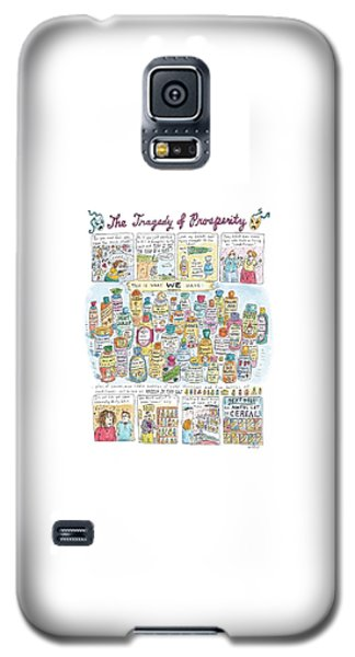 'the Tragedy Of Prosperity' Galaxy S5 Case