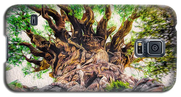 Galaxy S5 Case featuring the photograph The Tree by Joshua Minso
