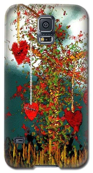 The Tree Of Hearts Galaxy S5 Case