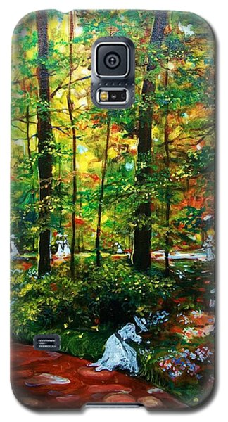 Galaxy S5 Case featuring the painting The Trials by Emery Franklin