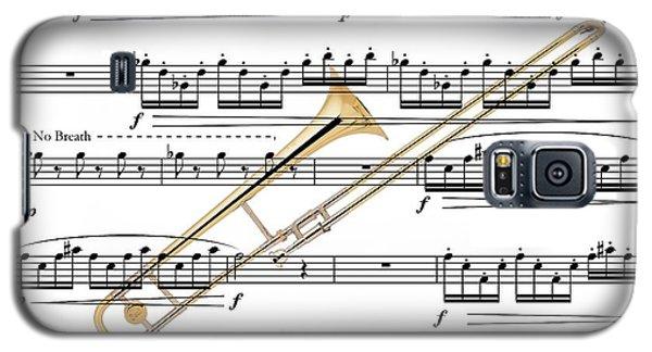 The Trombone Galaxy S5 Case by Ron Davidson