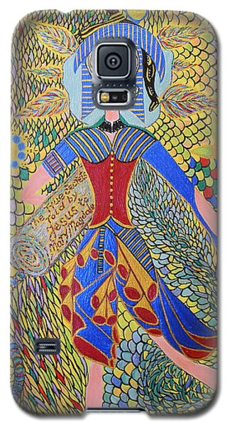 The True About Mary Magdalene Galaxy S5 Case by Marie Schwarzer