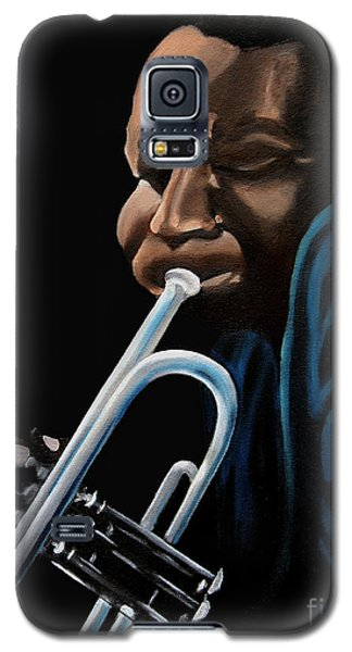 Galaxy S5 Case featuring the painting The Trumpeter by Barbara McMahon
