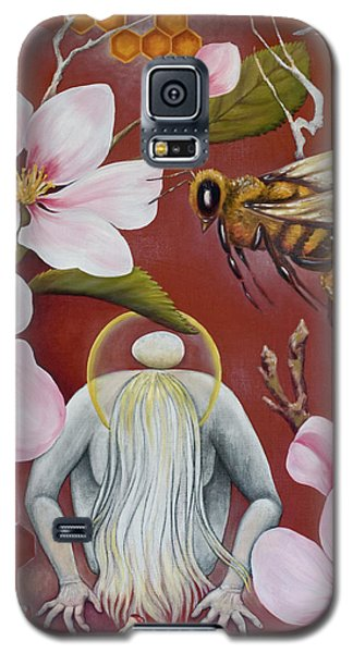 Galaxy S5 Case featuring the painting The Truth Of Beauty by Sheri Howe